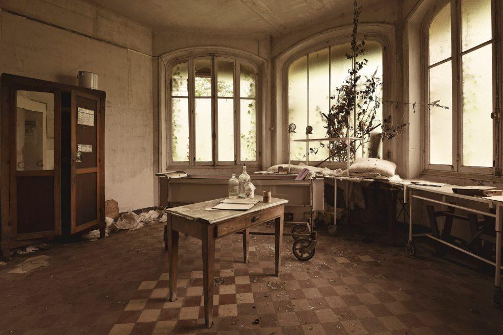 Sanatorium dans le Foret (France)
