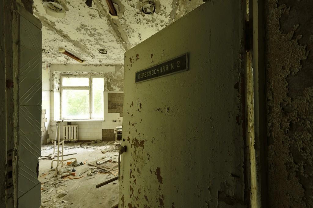 Pripyat / Chernobyl - Surgical dressing room no 2