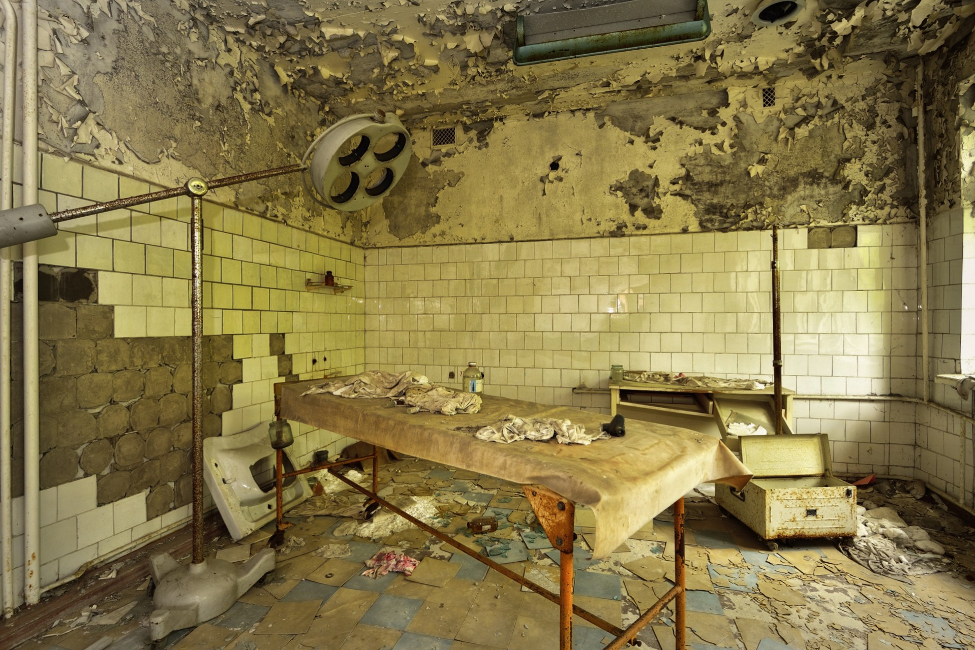 Pripyat Hospital / Surgery (Chernobyl, Ukraine)