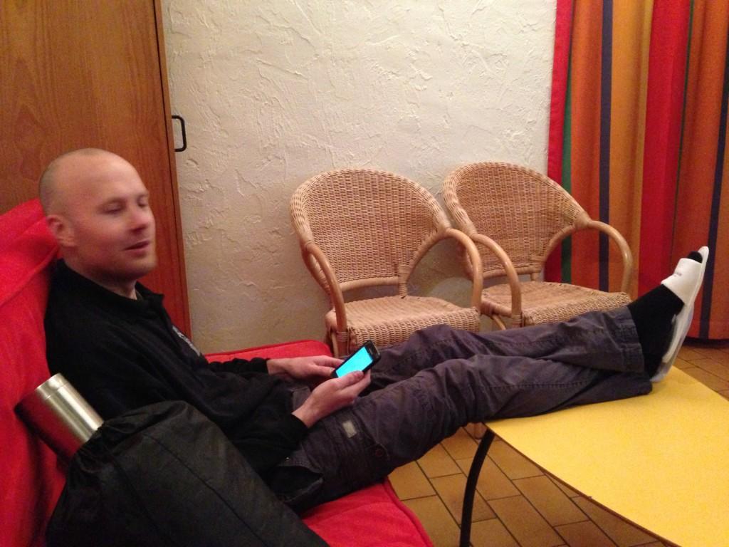 Bas van Duijn - Wearing slippers?