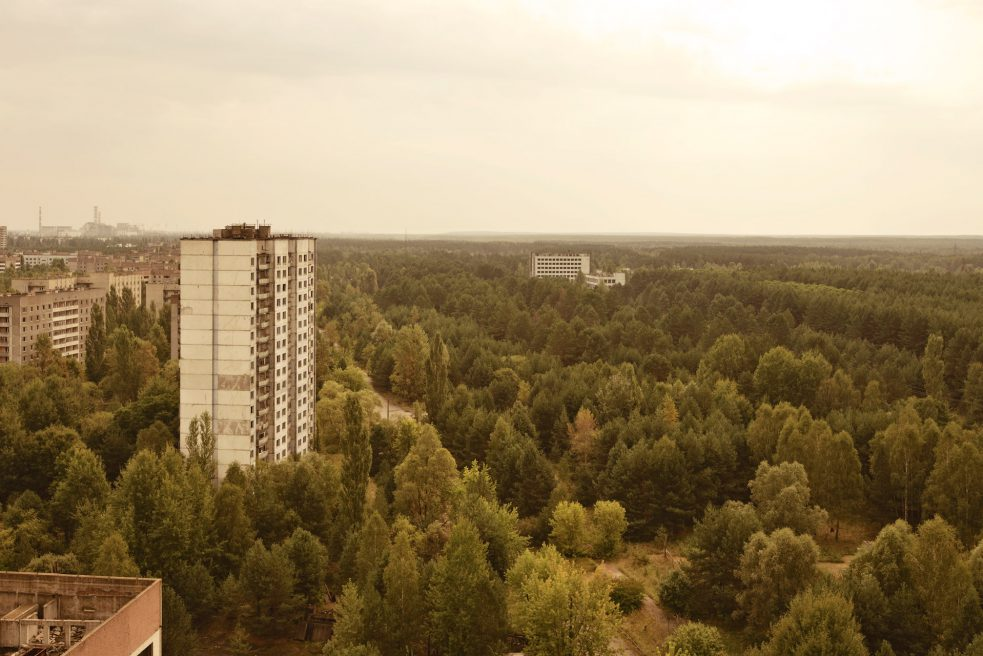 Pripyat City Residential Tower Block (Chernobyl, Ukraine)